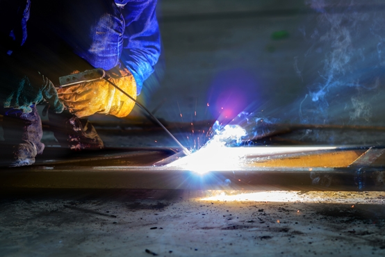 8951783 metal welding with spa